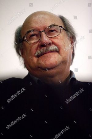 Chilean Writer Antonio Skarmeta Smiles During the Launch of His New Book 'The Days of the Rainbow' ('los Dias Del Arcoiris') in Santiago Chile 11 May 2011 Chile Santiago