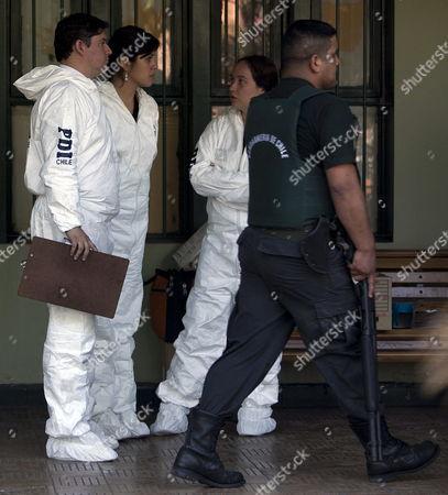 Editorial image of Chile Prison Fire - Dec 2010
