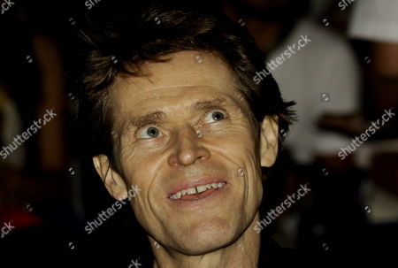 Stock Photo of American Actor William Dafoe Attends the Opening Gala of the 51st Cartagena International Film Festival in Cartagena Colombia on 24 February 2011 the Film 'The Colors of the Mountain' ('los Colores De La Montana') Debut of Colombian Director Carlos Cesar Arbelaez Opens the Festival Colombia Cartagena
