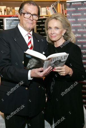 Roger Moore and wife Christina 'Kiki' Tholstrup