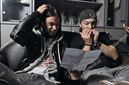 Bullet for My Valentine -  Matt Tuck and Michael 'Padge' Paget. .