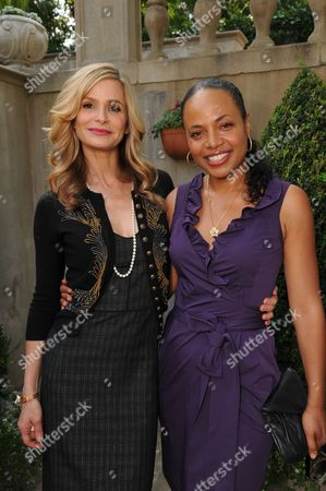 Kyra Sedgwick and Gina Ravera
