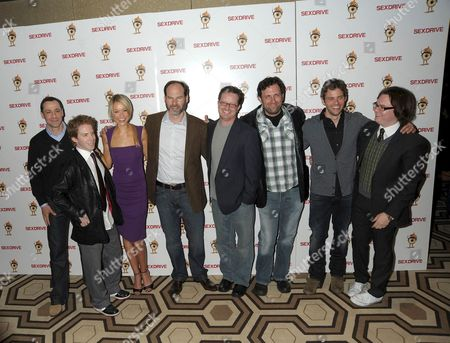 Producer Leslie Morgenstein, Seth Green, Katrina Bowden, Producer Bob Levy, Writer John Morris, Director Sean Anders, James Marsden and Clark Duke