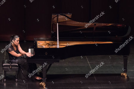 Editorial picture of Joyce Yang in Concert at The Wallis Annenberg Center for the Performing Arts, Los Angeles, USA - 24 Jan 2017
