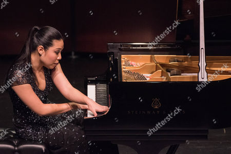 Editorial image of Joyce Yang in Concert at The Wallis Annenberg Center for the Performing Arts, Los Angeles, USA - 24 Jan 2017
