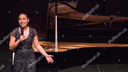 Editorial photo of Joyce Yang in Concert at The Wallis Annenberg Center for the Performing Arts, Los Angeles, USA - 24 Jan 2017