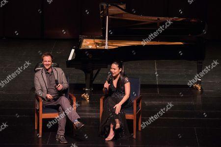 Brian Lauritzen and Joyce Yang