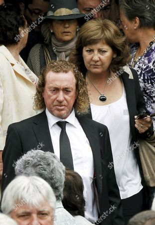 Spanish Golfer Miguel Angel Jimenez Leaves San Pedro Parish After the Small Funeral Service Celebrated in Pedrena Hometown of Late Spanish Golfer Severiano Ballesteros in the Region of Cantabria Northern Spain 11 May 2011 the 54-year-old Golf Legend Died on 07 May 2011 After a Long Battle Against a Brain Tumour Spain Pedrena