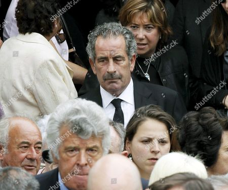 Scottish Golfer Sam Torrance (c) Leaves San Pedro Parish After the Small Funeral Service Celebrated in Pedrena Hometown of Late Spanish Golfer Severiano Ballesteros in the Region of Cantabria Northern Spain 11 May 2011 the 54-year-old Golf Legend Died on 07 May 2011 After a Long Battle Against a Brain Tumour Spain Pedrena