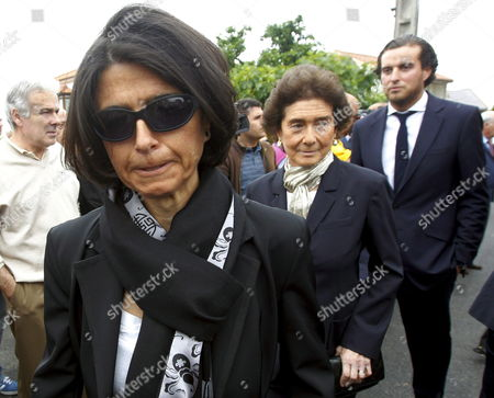 Carmen Botin (l) Former Wife of the Spanish Golfer Severiano Ballesteros Her Mother Paloma O Shea (c) and Her Sister Javier Botin Arrive to the Funeral Celebrated at Severiano's Hometown of Pedrena in the Region of Cantabria Northern Spain 11 May 2011 the 54-year-old Golf Legend Died on 07 May 2011 After a Long Battle Against a Brain Tumour Spain Pedrena