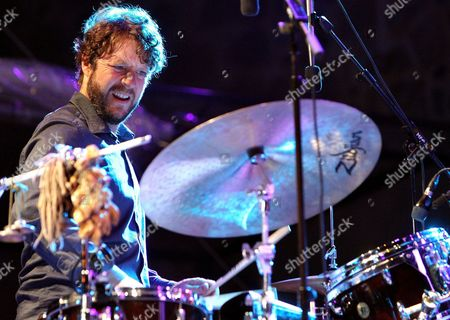 Us Drummer of Group Medeski Martin and Wood Billy Martin During His Performance at the 46th Jazz Festival of San Sebastian Basque Country Northern Spain on 23 July 2011 Spain San Sebastian