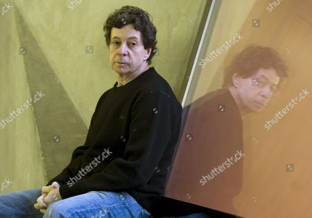 Us Novelist and Screenwriter Richard Price Poses During an Interview in Madrid Spain 15 February 2010 Price is in Spain to Present His Book 'Lush Life' Spain Madrid