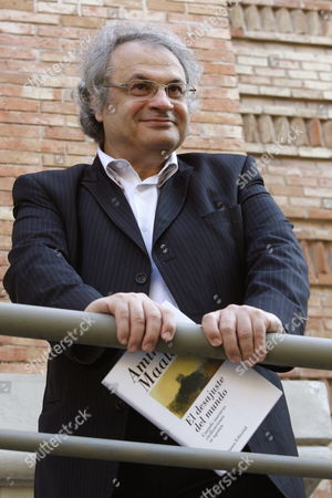 Lebanese Writer Amin Maalouf Looks on During the Presentation of the Spanish Edition of His Latest Book Entitled 'El Desajuste Del Mundo' (l'inadequation Du Monde) at the Arab House in Madrid Spain 28 September 2009 Spain Madrid