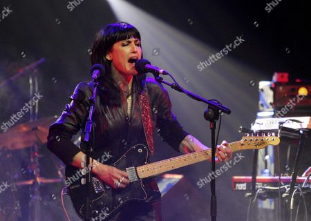 Us Musician Joan Wasser Aka Joan As Police Woman Performs During a Concert at the Joy Eslava Music Hall in Madrid Spain 11 March 2011 the Artist Presented Her New Album Entitled the Deep Field Spain Madrid