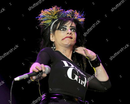 German Singer Nina Hagen Performs on Stage During Her Village Summers Concert at Puerta Del Angel Auditorium in Madrid Central Spain on 23 July 2010 where She Introduced Her Last Album 'Personal Jesus' Spain Madrid