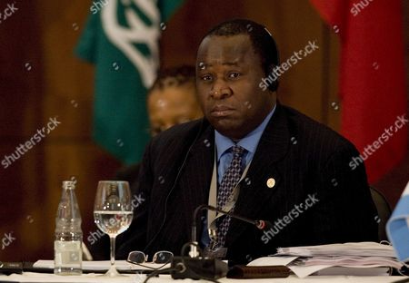 South African Central Bank President Tito Mboweni Participates at the Opening Ceremony of the G20 Finance Ministers and Central Bank Governors Meeting in Sao Paulo Brazil on 08 November 2008 Finance Ministers and Central Bank Governors From the 20 Most Industrialised and Important Emerging Economies Are Gathered at the Meeting to Discuss Global Financial Stability Then the Conclusions of the Meeting Will Be Presented at the G-20 Summit Next 15 November in Washington Brazil Sao Paulo