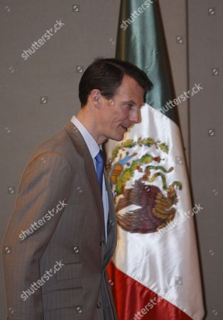 Prince Joachim of Denmark Visits the Franz Mayer Museum in Mexico City Mexico on 04 March 2010 Prince Joachim Presented an Exhibition with a Selection of the Wardrove and Set Design That His Mother Queen Margarita Ii Created For the Film 'De Vilder Svaner' Mexico Mexico City