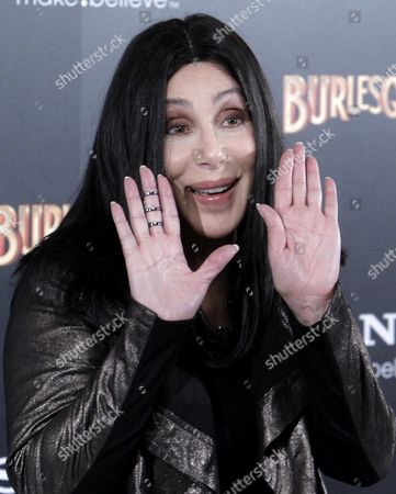 Us Actress and Singer Cher Poses For Photographs During a Photocall For the Movie 'Burlesque' in Madrid Spain 09 December 2010 the Movie by Us Director Steve Antin Will Be Released in Spain on 17 December 2010 Spain Madrid