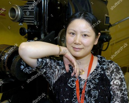 Stock Image of Chinese Director Emily Tang Poses During the Premier of Her Film 'Perfect Lit' on Competition During Granada's Southern Cinema Festival in Granada Andalusia (southern Spain) 18 June 2009 Spain Granada