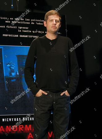 Israeli-born Film Director and Screenwriter Oren Peli Attends the Premiere of His Movie 'Paranormal Activity' in Madrid Spain 14 November 2009 the Film Has Been Shot with One Camera Only and an 11 000 Dollar Budget 'Paranormal Activity' Raked in Some 80 Million Dollars Spain Madrid