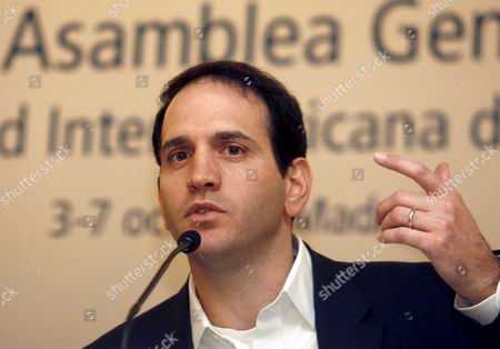Us Business Product Manager For Google News Josh Cohen Speaks During a Conference at the 64th General Assembly of the Inter American Press Association (iapa) in Madrid Central Spain 06 October 2008 Spain Madrid