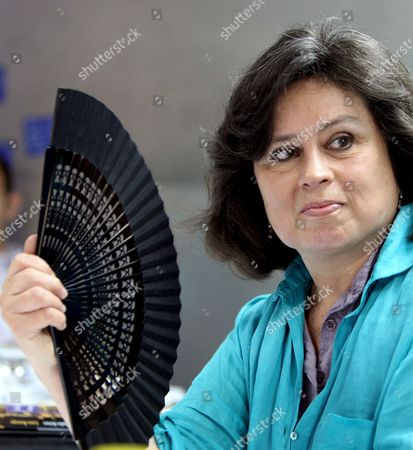 Colombian Writer Laura Restrepo During the Presentation of Her Latest Novel 'Demasiados H?roes' (too Many Heroes) Isnpired in Her Own Experience of Clandestinity During the Argentinian Military Dictatorship in Barcelona Spain 08 June 2009 Spain Barcelona