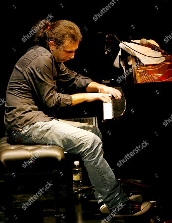 Italian Pianist Stefano Bollani Performs at the Xxix Granada International Jazz Festival Held at the Isabel La Cat?lica Theatre in Granada Southern Spain on 16 November 2008 Spain Granada