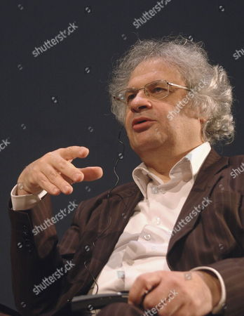 Lebanese Writer Amin Maalouf Speaks During a Meeting with Fans at the Jovellanos Theatre in Gijon Asturias Spain 20 October 2010 Maalouf Will Be Presented the 2010 Prince of Asturias Award For Letters During a Ceremony in Oviedo on 22 October Spain Oviedo