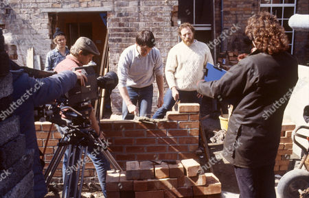 'Auf Wiedersehen Pet'  - Christopher Fairbank, Kevin Whately and Pat Roach