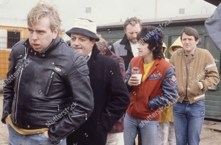 'Auf Wiedersehen Pet'  - Timothy Spall, Tim Healy, Christopher Fairbank, Gary Holton, Pat Roach and Kevin Whately