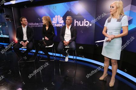 Pete Wild from Goldman Sachs, branding guru Rita Clifton CBE and creator of Box Park pop up shops Roger Wade, with Tania Bryer