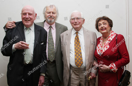 Stock Photo of Frank Williams, Ian Lavender, David Croft and Pamela Cundell