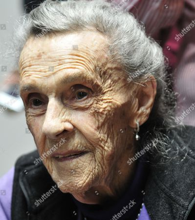 A Picture Dated on 09 April 2011 Shows Mexican Artist Leonora Carrington During the Inauguration of Her Last Exhibition in Mexico City Mexico Carrington Died of Pneumonia at the English Hospital in the Mexican Capital on 25 May 2011 Stated a Speaker of the National Council For the Arts and the Culture (conalcuta) Mexico Mexico City