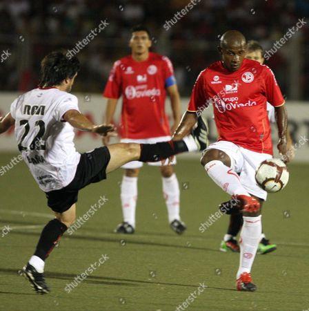Editorial picture of Peru Soccer Libertadores Cup - Mar 2010