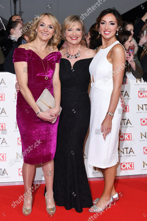 Louise Minchin, Carol Kirkwood and Sally Nugent