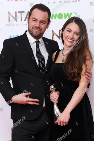 Danny Dyer and Lacey Turner - Best Serial Drama Performance - Eastenders