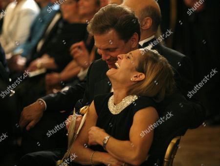 Mary-Lou Retton Kelley and husband Shannon Kelley
