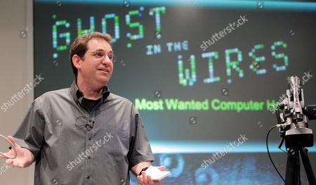 Us Kevin Mitnick One of World's Most Famous 'Hackers' of Computing History Delivers a Speech at Campus Party It Meeting on 14 July 2011 in Valencia Town Eastern Spain Mitnick Talked About His Point of View of the Virtual Security Some 6 000 Computer Fans Attended the Meeting Spain Valencia