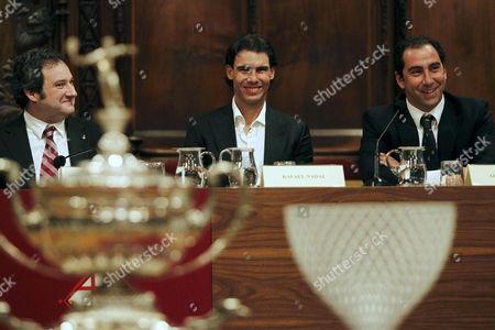 Editorial image of Spain Tennis Godo - Feb 2011