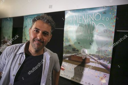 Brazilian Director Ale Abreu Poses During a Press Conference About the Nomination of His Movie 'Boy and the World' to the Oscar Awards in the Category 'Best Animated Film' in Sao Paulo Brazil 15 January 2016 Brazil Sao Paulo