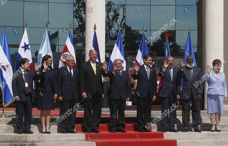 Editorial picture of El Salvador Sica Summit - Dec 2015