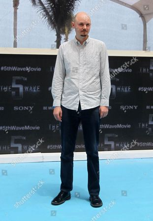 A Picture Made Available on 13 June 2015 Shows British Director J Blakeson Posing During the First Day of 5th Annual Summer of Sony at the Ritz Carlton Hotel in Cancun Mexico 12 June 2015 Mexico Cancun