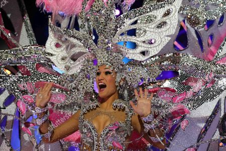 Editorial photo of Spain Carnival 2016 - Feb 2016
