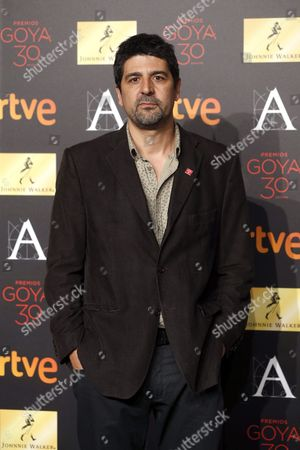 Spanish Director Cesc Gay Nominated in the 'Best Director' and 'Best Original Screenplay' Categories For His Movie 'Truman' Poses For the Media During the Goya Awards Nominees Party Held at the Palacio De Cibeles in Madrid Spain 26 January 2016 the 30th Goya Awards Ceremony Takes Place on 06 February Spain Madrid