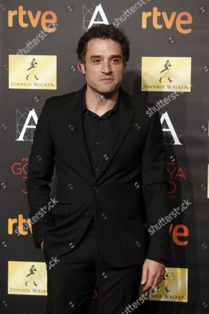 Spanish Director Daniel Guzman Nominated in the 'Best New Director' and 'Best Original Screenplay' Categories For His Movie 'A Cambio De Nada (in Return For Nothing)' Poses For the Media During the Goya Awards Nominees Party Held at the Palacio De Cibeles in Madrid Spain 26 January 2016 the 30th Goya Awards Ceremony Takes Place on 06 February Spain Madrid