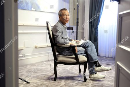 Taiwanese Director Hou Hsiao-hsien Poses During an Interview Held in Madrid Spain 25 November 2015 He Spoke About His New Movie 'The Assassin' Spain Madrid