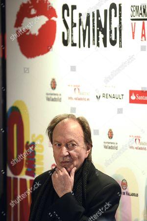 Serbian Filmmaker Goran Paskaljevic Arrives to the Opening Gala of the 60th Valladolid International Film Festival in Valladolid Spain 24 October 2015 the Event Runs From 24 to 31 October Spain Valladolid