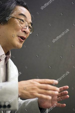 Japanese Video Game Designer and Creator of the Arcade Legend Game Pac-man Toru Iwatani During a Press Conference on the Ocassion of the Gamelab Bcn 2015 Fair in Barcelona Northeastern Spain 25 June 2015 Some 1 000 Delegates From More Than 500 Companies and Organizations Attend the Games and Interactive Entertaiment Conference Runing From June 24 to 26 Spain Barcelona