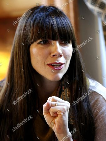 Australian Writer Kate Morton Poses During an Interview Held in Madrid Spain 19 November 2015 Morton International Bestselling Author of Novels Such As 'The Forgotten Garden' Presented the Spanish Edition of Her Latest Book 'The Lake House' Spain Madrid