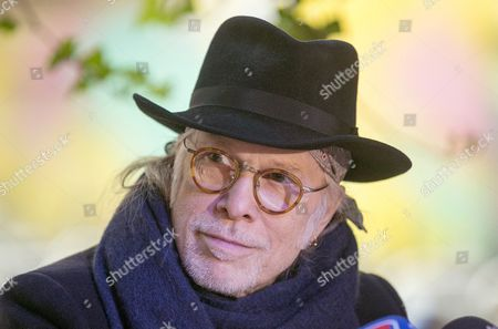 Us Musician Elliott Murphy Attends a Press Conference to Present His Novel 'Poetic Justice' in Zaragoza Northern Spain 18 January 2016 Murphy Will Perform During a Concert in Zaragoza on 24 January Spain Zaragoza